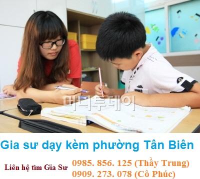 Gia sư dạy kèm tại nhà phường Tân Biên