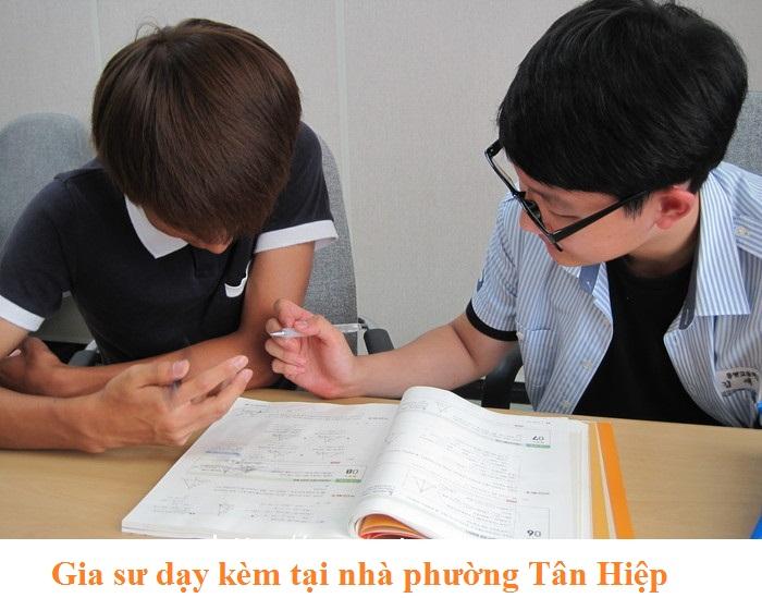 Gia sư dạy kèm tại nhà phường Tân Hiệp