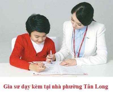 Gia sư dạy kèm tại nhà phường Tân Long