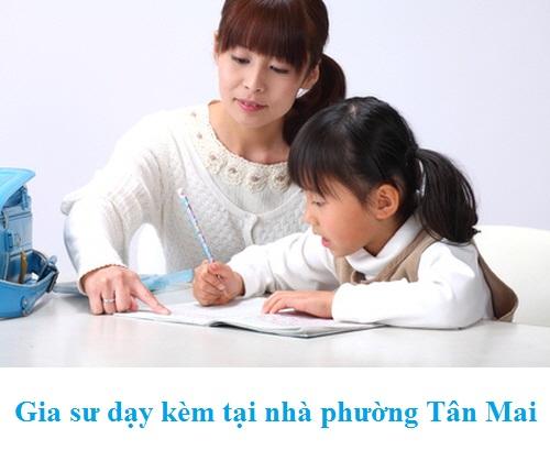 Gia sư dạy kèm tại nhà phường Tân Mai