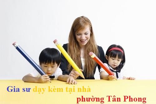 Gia sư dạy kèm tại nhà phường Tân Phong