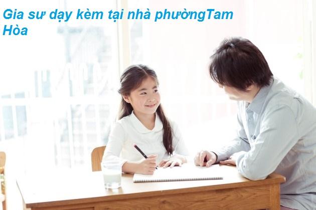 Gia sư dạy kèm tại nhà phường Tam Hòa