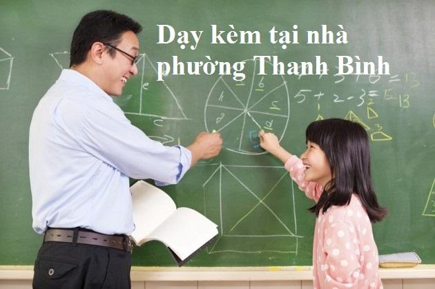 Gia sư dạy kèm tại nhà phường Thanh Bình